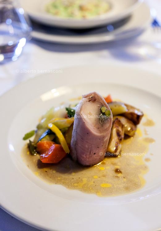 Milan, Bollate, InGalera Restaurant: Rabbit saddle