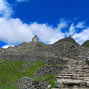 Some places in Machu Picchu seems like they lead you to the sky such as these steps.
