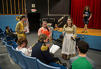 Laconia High School dress rehearsal for Into The Woods.  Karen Bobotas for the Laconia Daily Sun