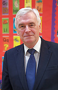 London, United Kingdom - 7 March 2018<br /> EQUINOX PICTURE EXCLUSIVE - Labour Party Shadow Chancellor John McDonnell and Shadow Communities Secretary Andrew Gwynne visiting the Liz Atkinson Children's Centre, Lambeth, London, England, UK, They were visiting the centre to highlight Conservative austerity cuts to children's centres. Europe.www.newspics.com/#!/contact<br /> (photo by: EQUINOXFEATURES.COM)<br /> Picture Data:<br /> Photographer: Equinox Features<br /> Copyright: &copy;2018 Equinox Licensing Ltd. +448700 780000<br /> Contact: Equinox Features<br /> Date Taken: 20180307<br /> Time Taken: 12023487