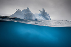 Iceberg in Svalbard, Norway