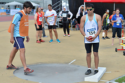 04/08/2017; Ortiz, Antonio Alexis, F11, ARG at 2017 World Para Athletics Junior Championships, Nottwil, Switzerland