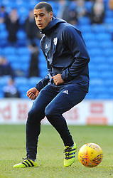 Lee Peltier of Cardiff City warms up - Mandatory by-line: Nizaam Jones/JMP - 17/02/2018 -  FOOTBALL - Cardiff City Stadium - Cardiff, Wales -  Cardiff City v Middlesbrough - Sky Bet Championship