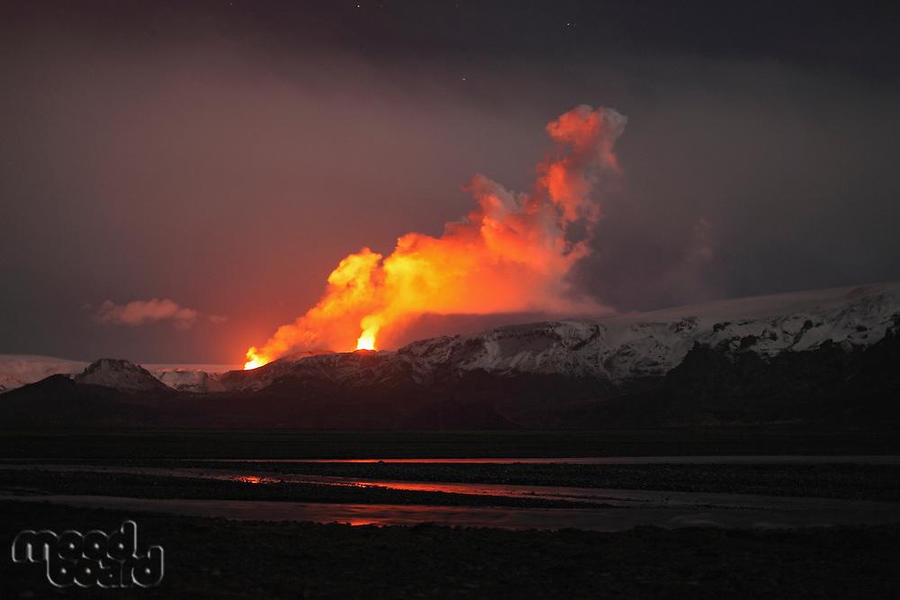 ThorsmÜrk  FimmvÜrduhalsi Eruption  Iceland