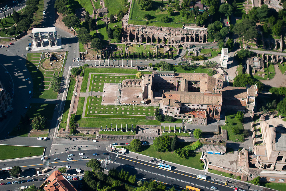 Roman Forum - Temple of Venus And Roma