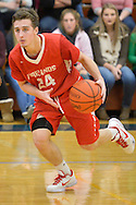 Firelands at Oberlin high school boys varsity basketball on Dec. 11, 2015. Images &copy; David Richard and may not be copied, posted, published or printed without permission.<br /> @DavidRichardPix