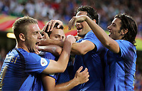 1:0 Jubel Italien<br />