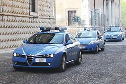 MACCHINE DELLA POLIZIA IN CORSO ERCOLE I D'ESTE