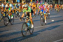 Paris, France - Tour de France :: Stage 21 - 21th July 2013 - Bauke MOLLEMA (Belkin Pro Cycling) on Place de la Concorde