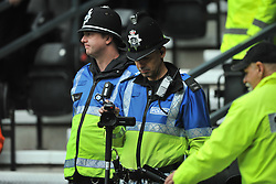 Police Filming Wolves Fans, Derby County v Wolves, Ipro Stadium, Sky Bet Championship, Sunday 18th October 2015 (Score Derby 4, Wolves, 1)