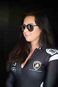 August 25-27, 2017: Lamborghini Super Trofeo at Virginia International Raceway. Lamborghini grid girl