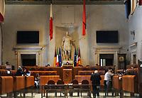 ROMA CAMPIDOGLIO AULA DEL CONSIGLIO CAPITOLINO