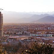 Grattacielo Regione Piemonte , Cantiere della futura sede della Regione Piemonte nel quartiere Lingotto. Torino gennaio 2015