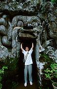 Ubud. Entry to Goah Gajah (Elephant Cave). Nicole Schmidt.