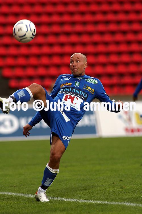 17.06.2007, Ratina, Tampere, Finland..Veikkausliiga 2007 - Finnish League 2007.Tampere United - FF Jaro.Antti Pohja - TamU.©Juha Tamminen.....ARK:k