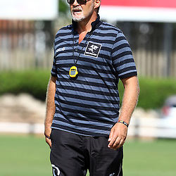 DURBAN, SOUTH AFRICA, Friday 15, January 2016 - Robert du Preez( Assistant Coach) of the Cell C Sharks during The Cell C Sharks Pre Season training Friday 145h January 2016,for the 2016 Super Rugby Season at Growthpoint Kings Park in Durban, South Africa. (Photo by Steve Haag)<br /> images for social media must have consent from Steve Haag