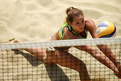 Monika Potokar during Beach Volleyball Slovenian National Championship 2016, on July 23, 2016 in Kranj, Slovenia. Photo by Matic Klansek Velej / Sportida