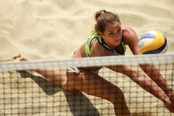 Monika Potokar during Beach Volleyball Slovenian National Championship 2016, on July 23, 2016 in Kranj, Slovenia. Photo by Matic Klansek Velej / Sportida