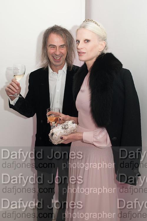 IVOR BRAKA; KRISTEN MECMENAMY, Valentino: Master of Couture - private view. Somerset House, London. 28 November 2012