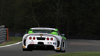 Autoaid/RCIB Insurance Racing #63 Ginetta G55 GT4 Matt Chapman/Sam Webster GT4 Silver during Friday testing for the British GT Championship as part of the BRDC British F3/GT Championship Meeting at Oulton Park, Little Budworth, Cheshire, United Kingdom. April 14 2017. World Copyright Peter Taylor/PSP. Copy of publication required for printed pictures.  Every used picture is fee-liable. http://archive.petertaylor-photographic.co.uk