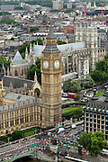 Quintessential London - A View of Westminster and Big Ben from the London Eye