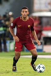 Juan Jesus of AS Roma during the UEFA Champions League group C match match between AS Roma and Atletico Madrid on September 12, 2017 at the Stadio Olimpico in Rome, Italy.