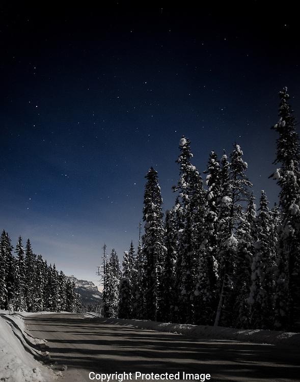 Srarry night around Banff, Alberta, Canada, Isobel Springett