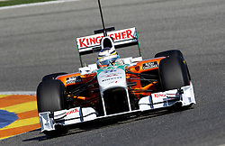 Motorsports / Formula 1: World Championship 2011, Test Valencia, Nico Huelkenberg ( D, Force India )
