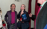 HARRY SHEARER; JUDITH OWEN, Press night for Ruby Wax- Losing it. Duchess theatre. London. 1 September 2011. <br /> <br />  , -DO NOT ARCHIVE-&copy; Copyright Photograph by Dafydd Jones. 248 Clapham Rd. London SW9 0PZ. Tel 0207 820 0771. www.dafjones.com.