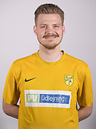 FODBOLD: Chris Lorentzen ved Ølstykke FC's officielle fotosession den 27. marts 2018 på Ølstykke Stadion. Foto: Claus Birch