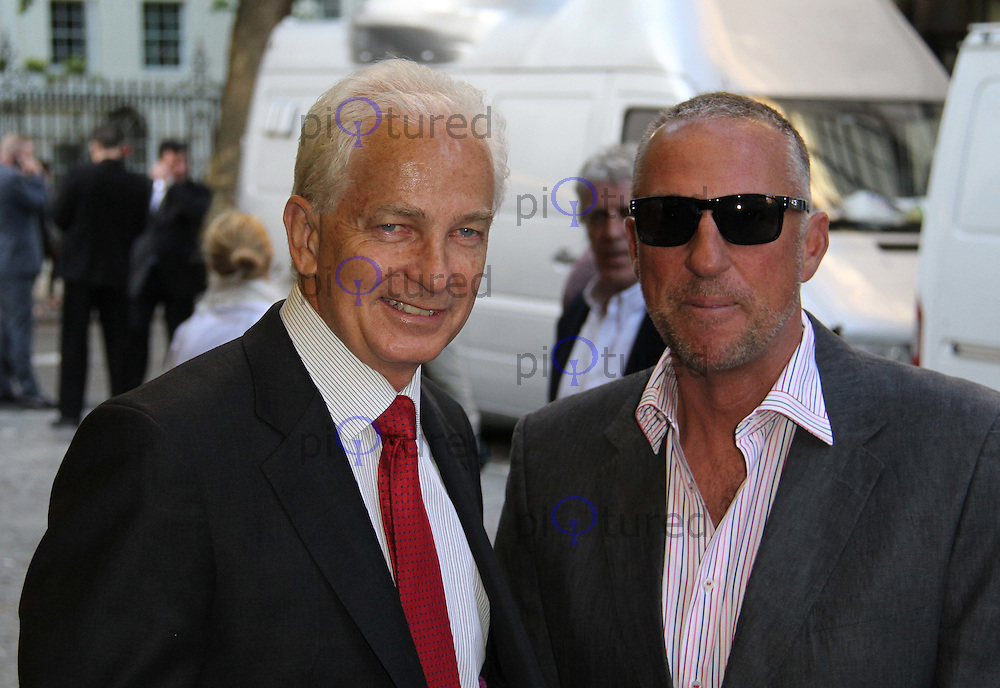 David Gower; Sir Ian Botham From The Ashes World Premiere, Curzon Mayfair Cinema, London, UK, 10 May 2011:  Contact: Rich@Piqtured.com +44(0)791 626 2580 (Picture by Richard Goldschmidt)