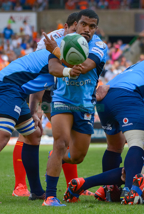 Rudy Paige of the Blue Bulls  during the Currie Cup Final between the The Free State Cheetahs and Blue Bulls held at Toyota Stadium (Free State Stadium), Bloemfontein, South Africa on the 22nd October 2016<br /> <br /> Photo by:   Frikkie Kapp / Real Time Images