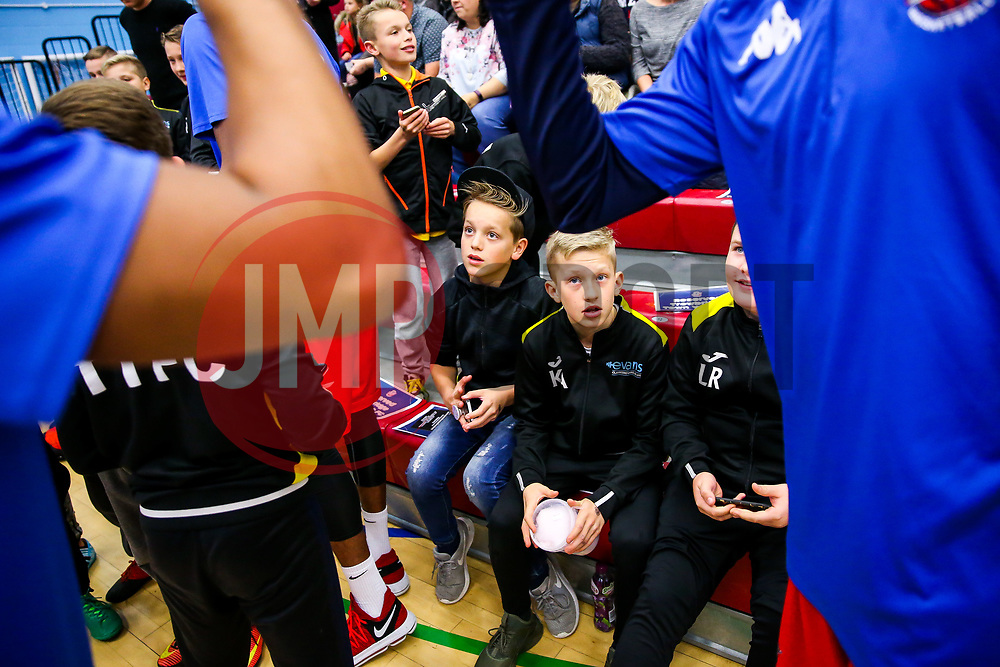 - Rogan/JMP - 11/11/2017 - BASKETBALL - SGS Wise Arena - Bristol, England. - Bristol Flyers v Glasgow Rocks - British Basketball League.