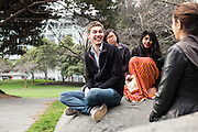 SAN FRANCISCO, CA – JANUARY 14, 2016: Minerva students explore San Francisco during their first year of enrollment.<br /> <br /> Minerva is a unique 21st century university built on a global four-year education model. It is deliberately designed to enhance intellectual growth and prepare students for success in today's rapidly changing global context. Founded in 2014, the university targets the developing world's rising middle class who seek an elite American education. With a 2.8% acceptance rate among the founding class, Minerva is the most selective undergraduate program in U.S. history.