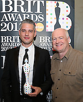 Paul Epworth was presented with the BRIT Award for best British producer at the MPG Awards 2013 on Thursday 7th February 2013.<br />
