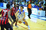 DESCRIZIONE : Sassari Lega A 2012-13 Dinamo Sassari Angelico Biella<br /> GIOCATORE : Jack Devecchi<br /> CATEGORIA : Palleggio<br /> SQUADRA : Dinamo Sassari<br /> EVENTO : Campionato Lega A 2012-2013 <br /> GARA : Dinamo Sassari Angelico Biella<br /> DATA : 30/09/2012<br /> SPORT : Pallacanestro <br /> AUTORE : Agenzia Ciamillo-Castoria/M.Turrini<br /> Galleria : Lega Basket A 2012-2013  <br /> Fotonotizia : Sassari Lega A 2012-13 Dinamo Sassari Angelico Biella<br /> Predefinita :