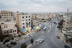 19 February 2020, Zarqa, Jordan: Evening view over Zarqa.
