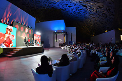 February 23, 2019 - Abu Dhabi, Emirati Arabi Uniti - Foto LaPresse - Massimo Paolone.23 Febbraio 2019 Abu Dhabi (Emirati Arabi Uniti).Sport Ciclismo.UAE Tour 2019 - Louvre Abu Dhabi - Presentazione squadre.Nella foto: Tom Dumoulin, DENNIS Rohan..Photo LaPresse - Massimo Paolone.February 23, 2019 Abu Dhabi (United Arab Emirates) .Sport Cycling.UAE Tour 2019 - Louvre Abu Dhabi - Teams presentation.In the pic: Tom Dumoulin, DENNIS Rohan (Credit Image: © Massimo Paolone/Lapresse via ZUMA Press)