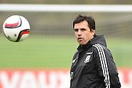 101115 Wales football team training
