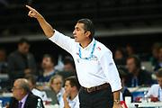 DESCRIZIONE : Kaunas Lithuania Lituania Eurobasket Men 2011 Quarter Final Round Spagna Slovenia Spain Slovenia<br /> GIOCATORE : Sergio Scariolo<br /> CATEGORIA : coach<br /> SQUADRA : Spagna Spain <br /> EVENTO : Eurobasket Men 2011<br /> GARA : Spagna Slovenia Spain Slovenia<br /> DATA : 14/09/2011<br /> SPORT : Pallacanestro <br /> AUTORE : Agenzia Ciamillo-Castoria/G.Matthaios<br /> Galleria : Eurobasket Men 2011<br /> Fotonotizia : Kaunas Lithuania Lituania Eurobasket Men 2011 Quarter Final Round Spagna Slovenia Spain Slovenia<br /> Predefinita :