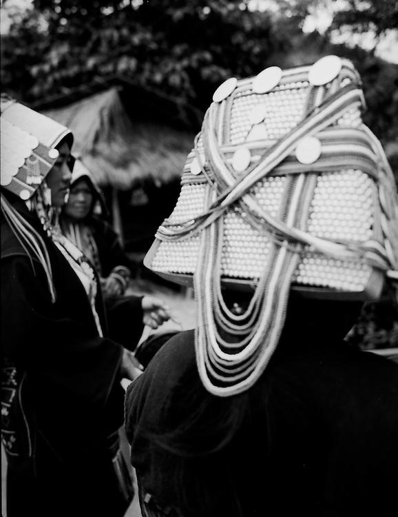 Akha women at Ban Lorcha hill-tribe community