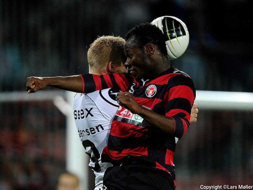 DK:<br /> 20100913, Herning, Danmark:<br /> Fodbold Superliga FC Midtjylland - Randers FC: <br /> Sylvester Igboun, FC Midtjylland (44)<br /> Foto: Lars M&oslash;ller<br /> UK: <br /> 20100913, Herning, Danmark:<br /> Football Superleague FC Midtjylland - Randers FC: <br /> Sylvester Igboun, FC Midtjylland (44)<br /> Photo: Lars Moeller