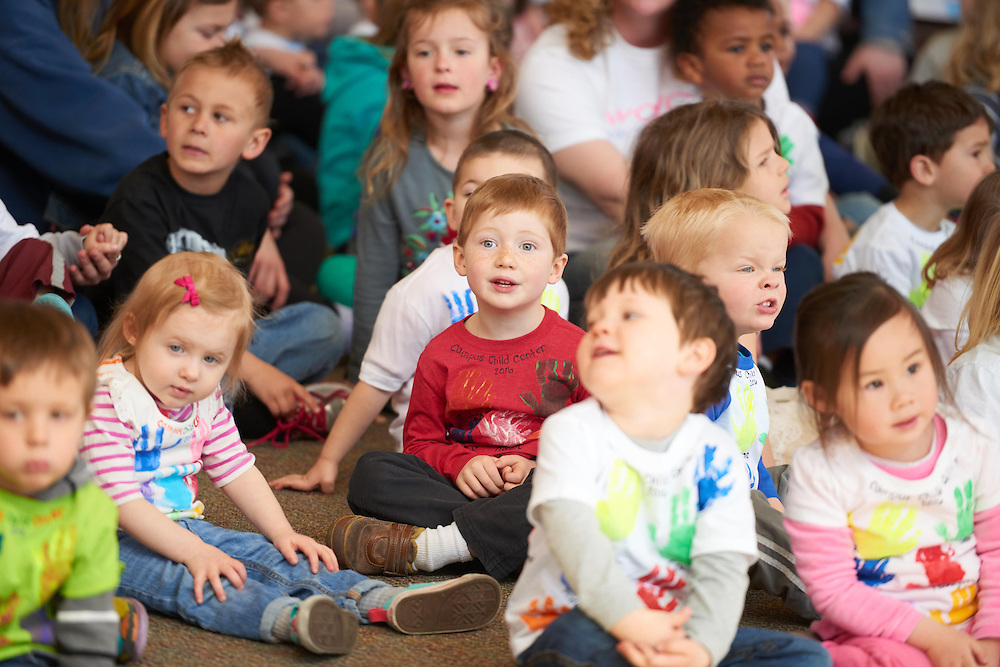 Activity; Singing; Location; Inside; People; Children; Time/Weather; day; Spring; April; Type of Photography; Candid; UWL UW-L UW-La Crosse University of Wisconsin-La Crosse