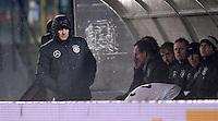 FUSSBALL  INTERNATIONAL WM QUALIFIKATION  IN SAN MARINO San Marino -  Deutschland           11.11.2016 Bundestrainer Joachim Loew (Deutschland) im Regen