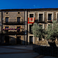Typical architecture, Almarza, province of Soria, Spain
