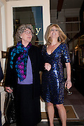 JULIA BUDWORTH; RACHEL JOHNSON, Rachel's Johnson's 'A Diary of the Lady'book launch at The Lady's offices. Covent Garden. London. 30 September 2010. -DO NOT ARCHIVE-© Copyright Photograph by Dafydd Jones. 248 Clapham Rd. London SW9 0PZ. Tel 0207 820 0771. www.dafjones.com.