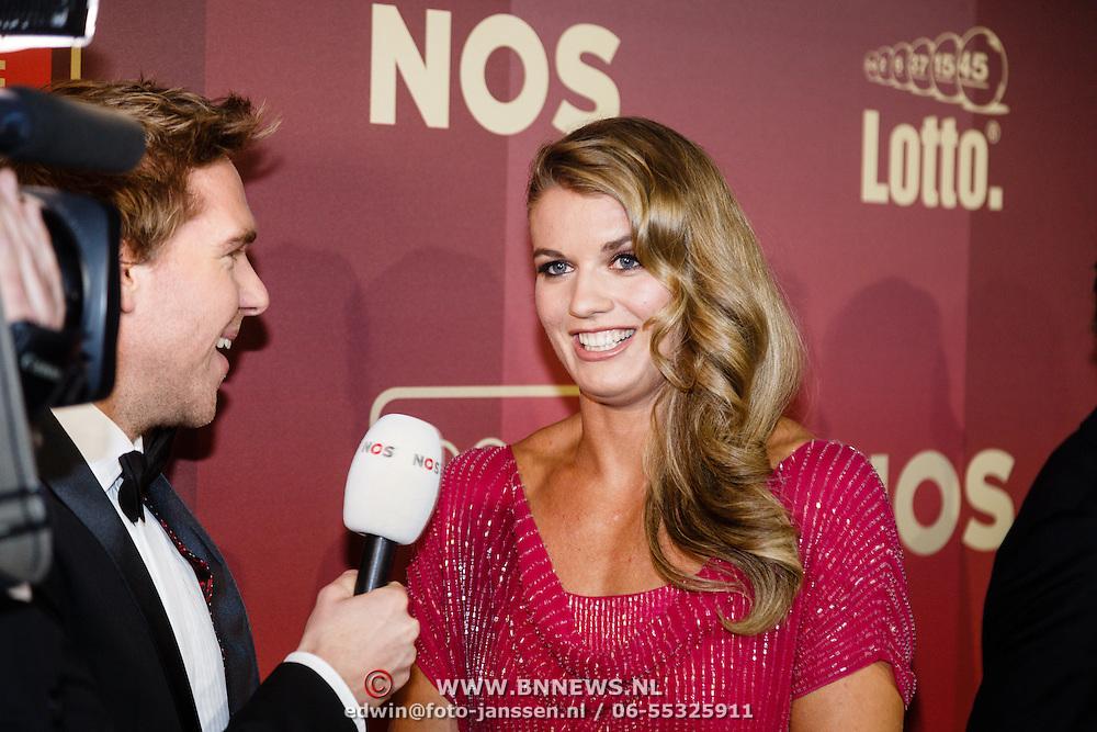 NLD/Amsterdam/20151215 - NOC / NSF Sportgala 2015, Daphne Schippers
