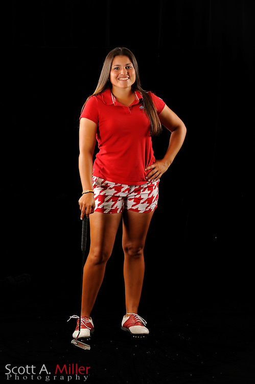 Natalie Sheary during a portrait shoot prior to the Symetra Tour's Florida's Natural Charity Classic at the Lake Region Yacht and Country Club on March 20, 2012 in Winter Haven, Fla. ..©2012 Scott A. Miller.
