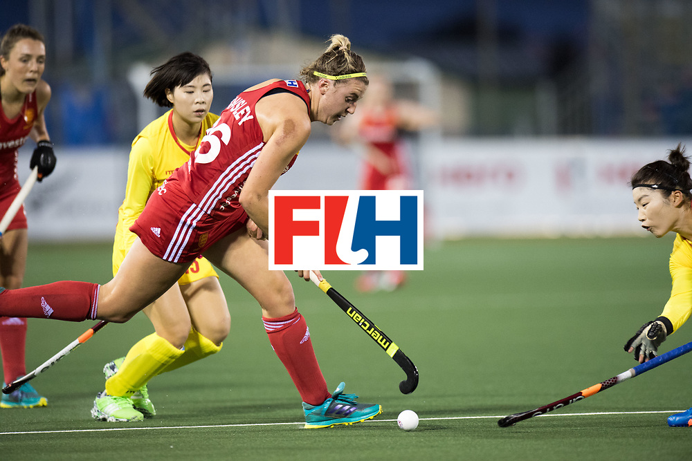 AUCKLAND - Sentinel Hockey World League final women<br /> Match id 10302<br /> ENG v China<br /> Foto: Lily Owsley <br /> WORLDSPORTPICS COPYRIGHT FRANK UIJLENBROEK