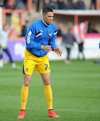 Daniel Leadbitter of Bristol Rovers - Mandatory byline: Neil Brookman/JMP - 28/11/2015 - FOOTBALL - ST James Park - Exeter, England - Exeter City v Bristol Rovers - Sky Bet League Two